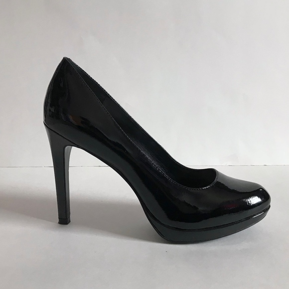 67c9548eb BCBGeneration Shoes - BCBGeneration Tinas Black Patent Leather Pumps